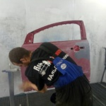 Аль Починим покраска двери