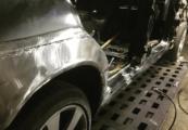 Mercedes-Benz W140 кузовной ремонт замена крыла
