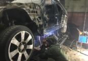 Mercedes-Benz W140 кузовной ремонт сварочные работы у Аль-Починим