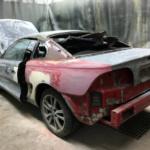 Ford Mustang 4 подготовка к покраске