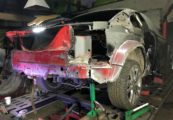 Ford Mustang 4 кузовной ремонт